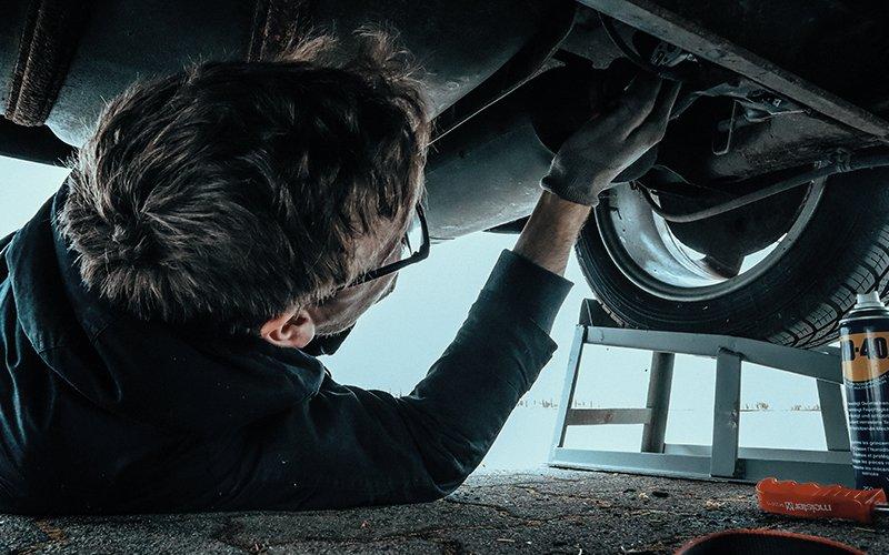 Garage Services Website Template 5
