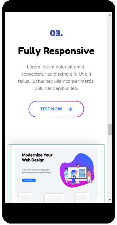 Digital Product Website Template Digital Product - Promo Card 4