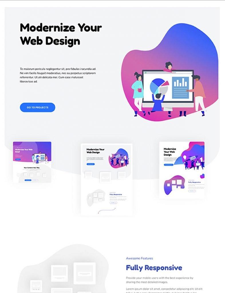 Digital Product Website Template 48