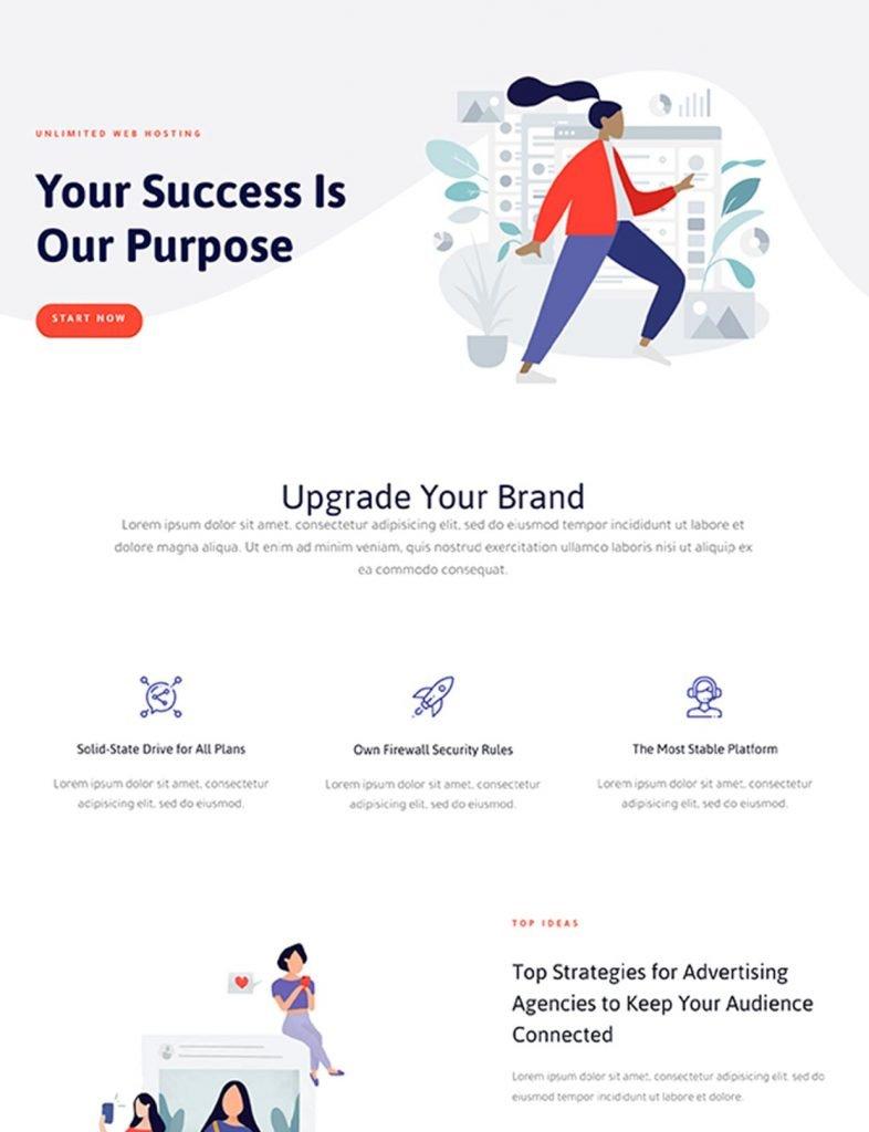 Tech Business Website Template 92