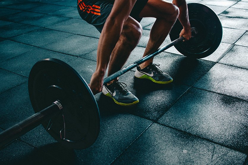 Lifestyle Gym Website Template Weightlifting