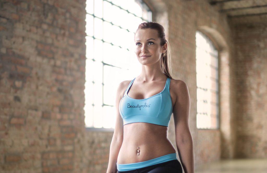 Lifestyle Gym Website Woman Yoga