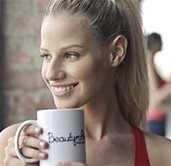 Lifestyle Gym Website Woman Drinking Tea