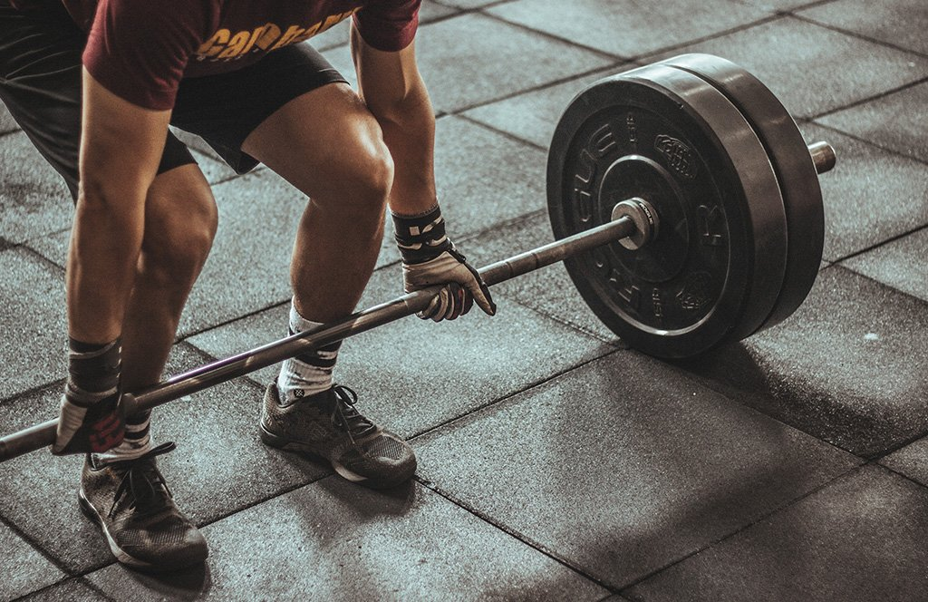 Lifestyle Gym Website Weight Lifting