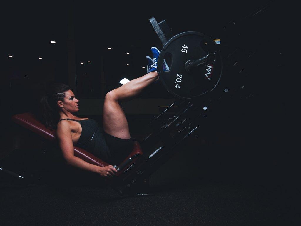 Lifestyle Gym Website Template Leg Day
